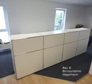 Büromöbel Weiß Chrom