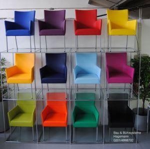 esszimmerst hle bunt leder. Black Bedroom Furniture Sets. Home Design Ideas