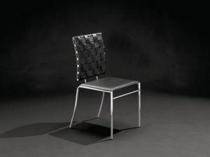 m belimperium stuhl st hle vierfu stuhl web lederstul schwarz wei braun daste32. Black Bedroom Furniture Sets. Home Design Ideas