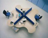 m belimperium callcenter arbeitsinsel 4 arbeitspl tze inkl trennw nden tische 285000002 c. Black Bedroom Furniture Sets. Home Design Ideas